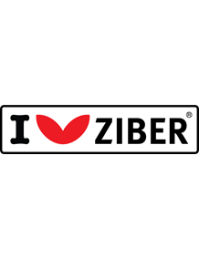 I Love Ziber Sticker